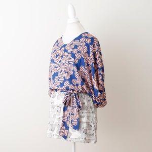 NWOT Printed DVF Dress